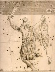 Copperplate print of Orion