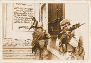 Marines in Saddams palace
