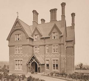 A Victorina house, circa 1865, Tonbridge, England