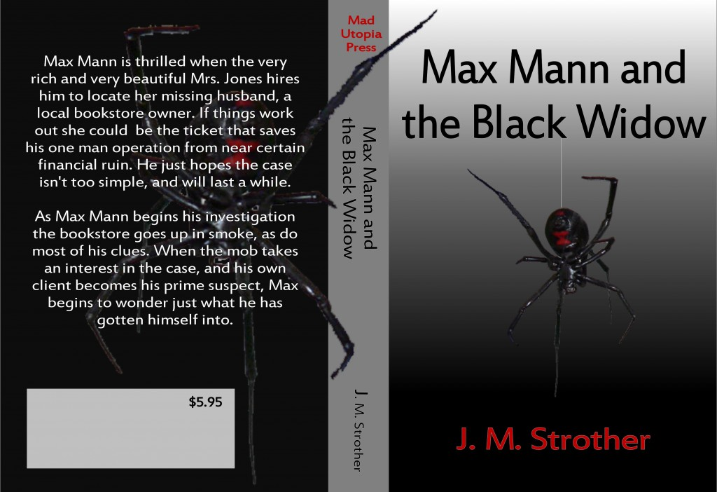 Max Mann cover concept