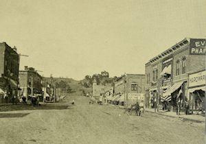 Old West Street Scene